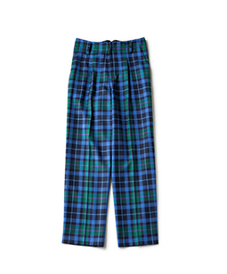 Wool tartan 2 Face pants