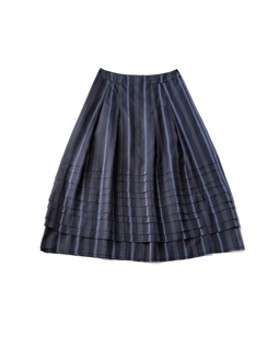 Traditional Stripes forest skirt