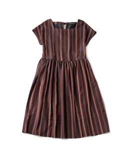 Traditional Stripes tablier dress