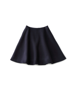 Lamb wool melton supreme skirt