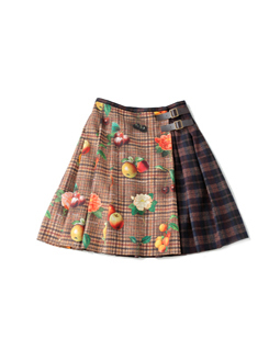 Fantasia Tweed MIX quilting skirt