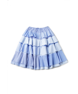 Stripe lover dirndl skirt