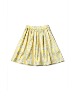 Decoration Wall midi skirt
