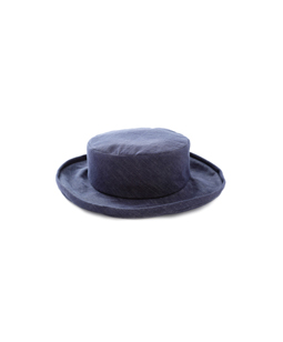 Slab denim hat