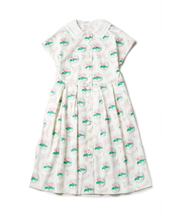 Flower Plate afternoon dress