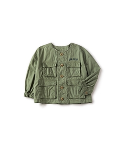 Riding cloth military jacket
