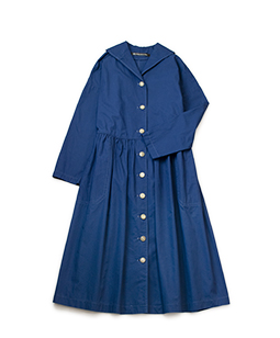 Sulfur damp coat dress