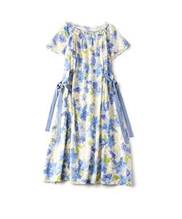 Water flower surf dress