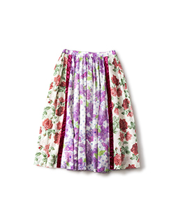 Water flower and Climbing rose skirt