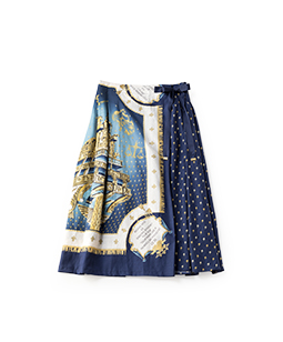 Star tales wrapped skirt