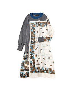 Port of the poet knit dress